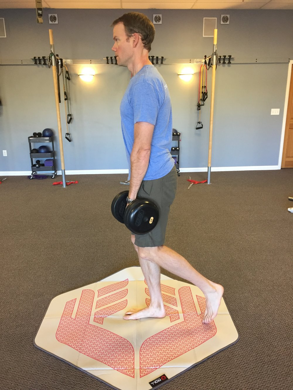 running-strength training-single leg deadlift