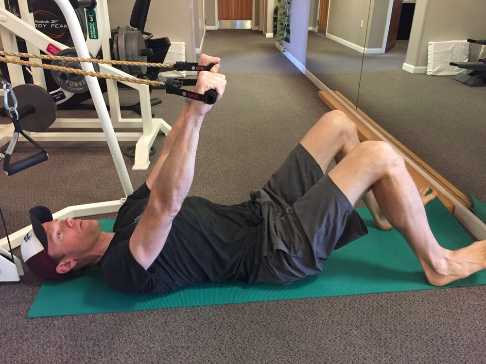 bridge-shoulder extension-exercise-strengthening