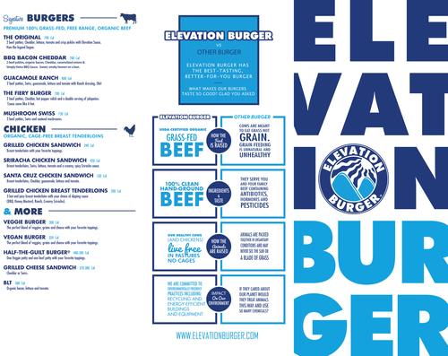 Client: Elevation Burger