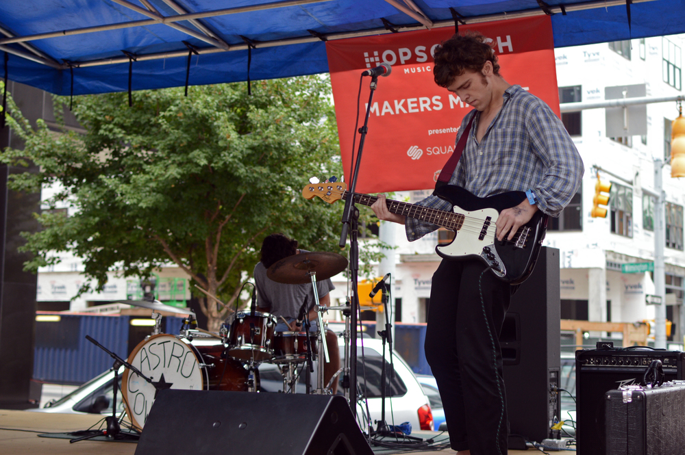 Astro Cowboy at Hopscotch Makers Market Day Party - Davie Street Outdoor Stage
