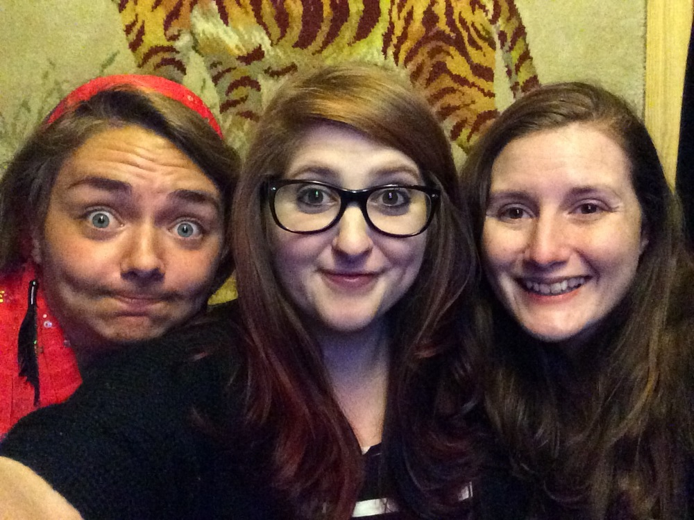 Amanda, Brittany and I