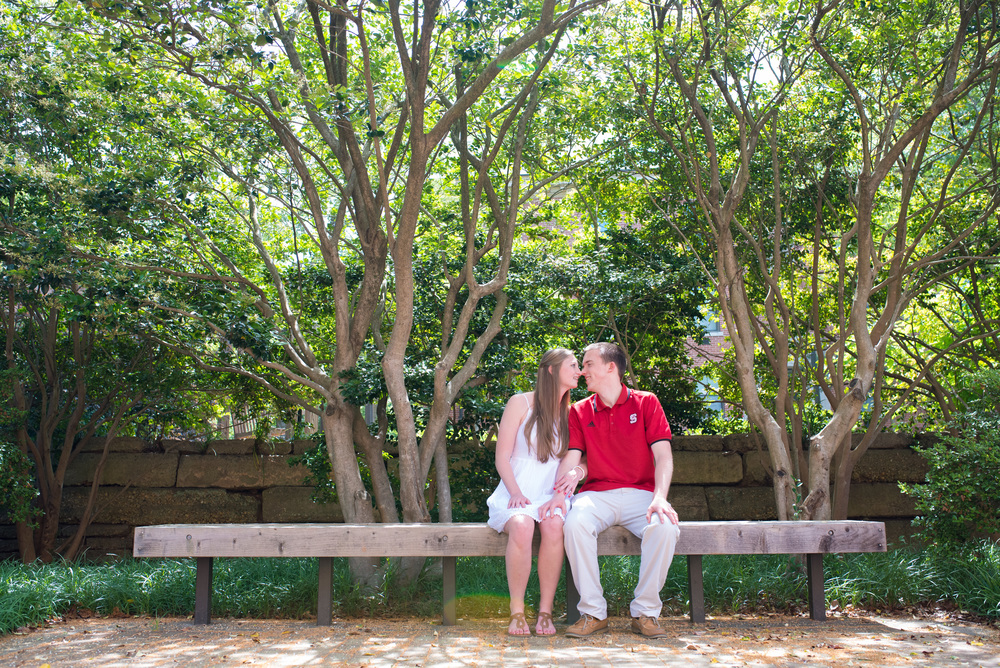 Raleigh Wedding Photographers - NC State Engagement Shoot