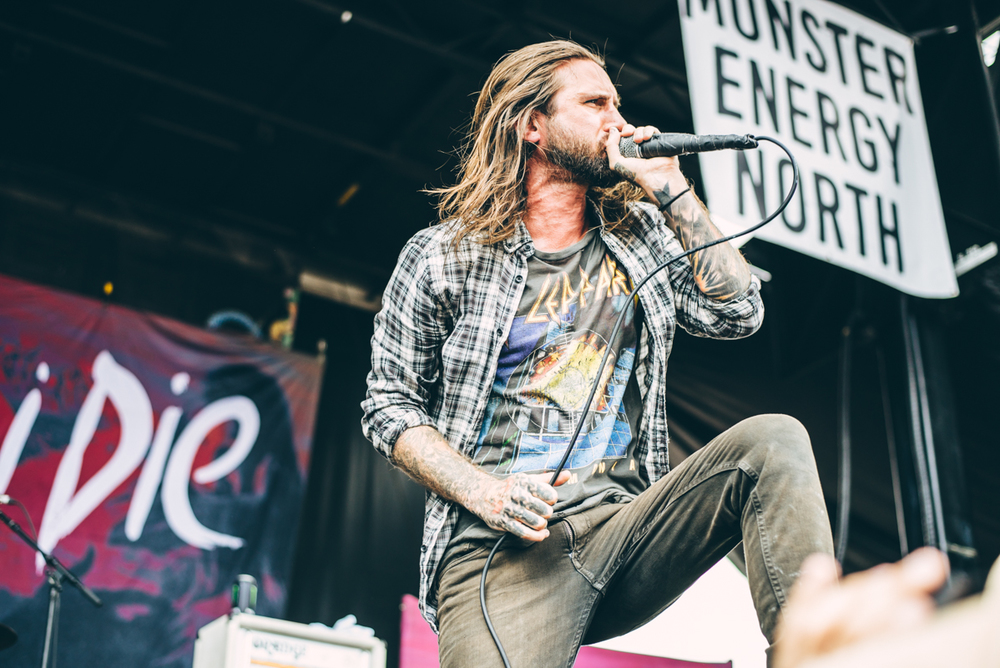 Every Time I Die - Warped Tour 2016 - Virginia Beach - Band Photographer