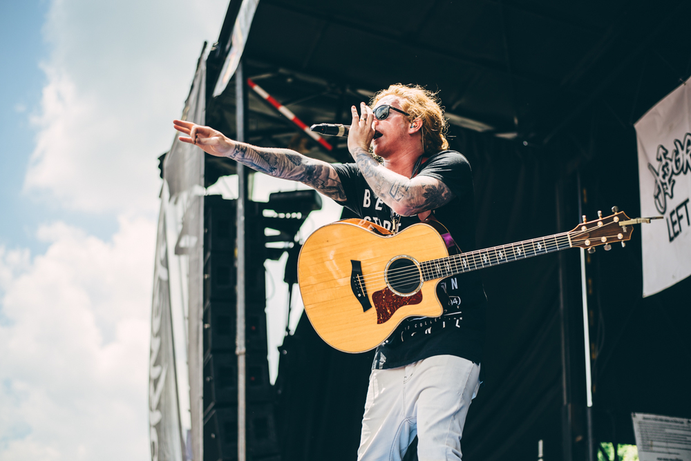 We The Kings - Warped Tour 2016 - Virginia Beach - Band Photograpgher