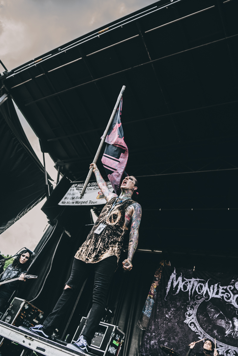 Motionless In White - Warped Tour 2016 - Virginia Beach - Band Photographer
