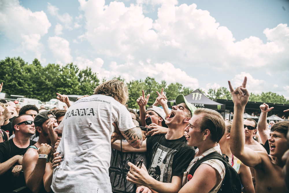 Vanna - Warped Tour 2016 - Virginia Beach - Band Photographer