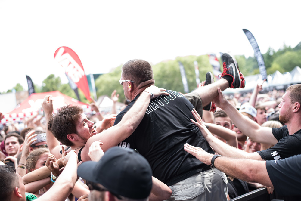 Warped Tour 2016 - VA Beach - Band Photographer