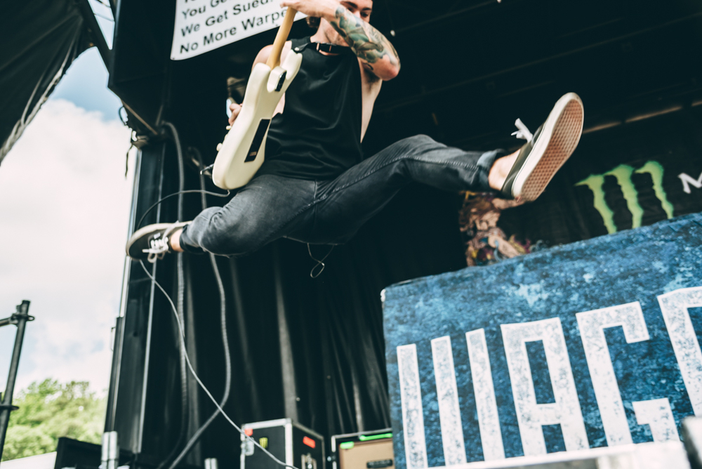 Wage War - Warped Tour 2016 - Virginia Beach - Band Photographer