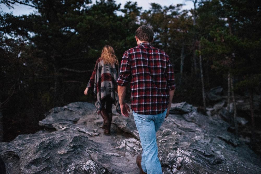 Hanging Rock Engagement - North Carolina Wedding Photographer - New England Wedding Photographer - Boston Wedding Photographer