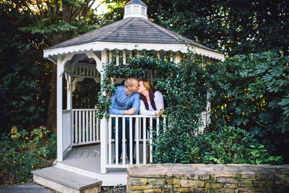 Raleigh Engagement Photographer - JC Raulston Arboretum Engagement