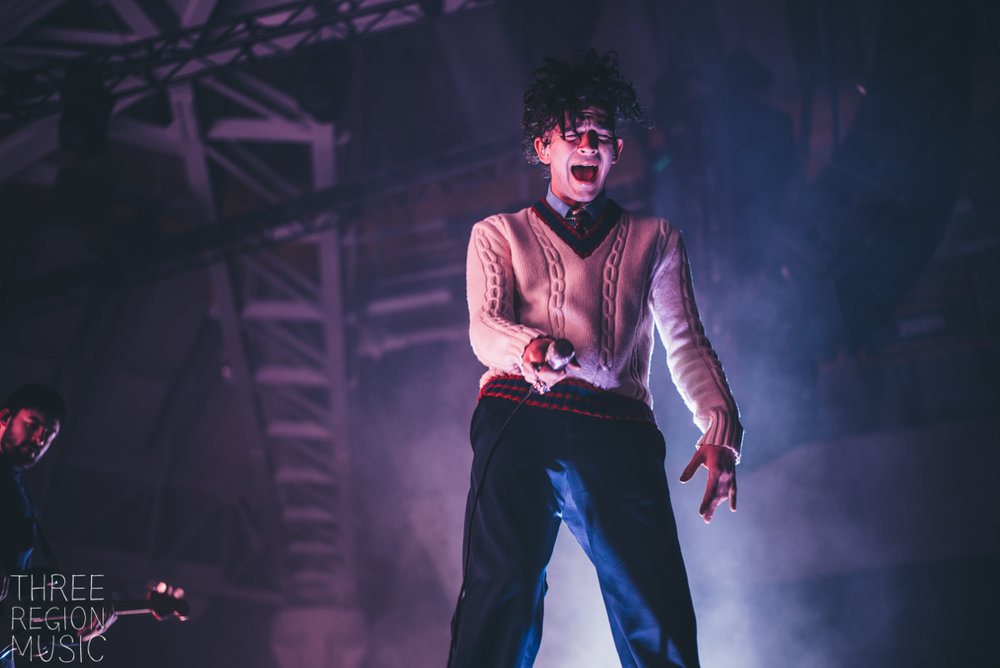 THE 1975 - MATT HEALY - CONCERT PHOTOGRAPHER - BOONE, NC