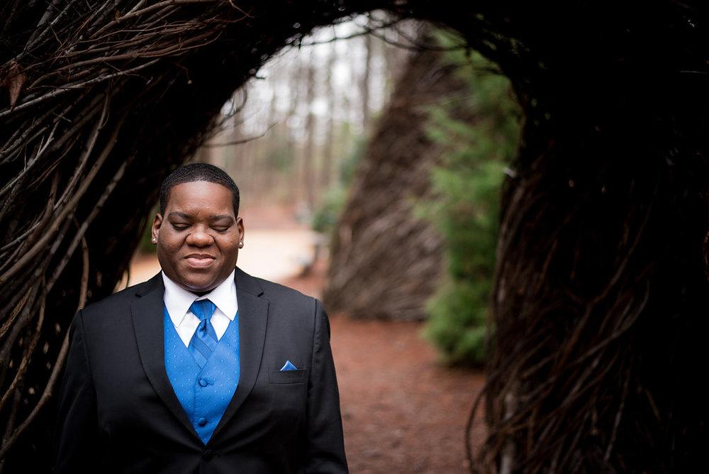 North Carolina LGBT Wedding Photographer
