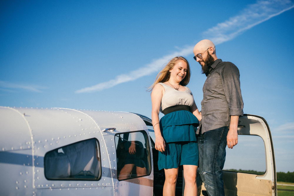 north carolina wedding photographer - alternative engagement shoot - raleigh wedding photographer