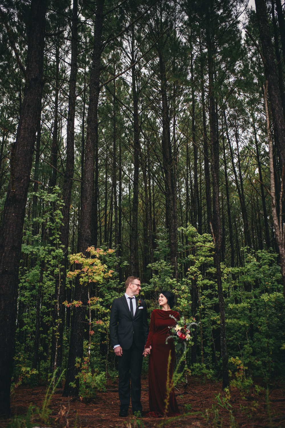 twin peaks styled shoot - twin peaks wedding inspiration