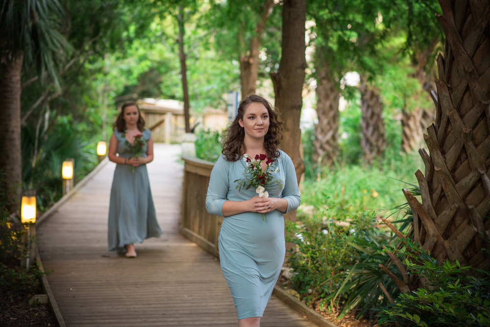 Boho Wedding - North Carolina Wedding Photographer - Wilmington Wedding Photographer