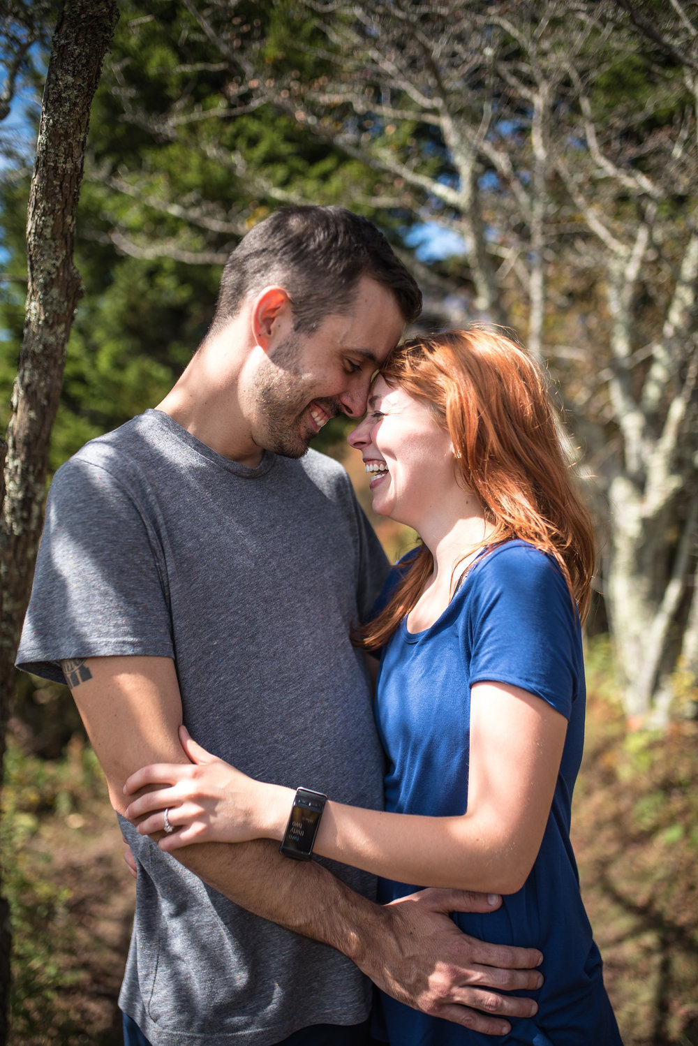 Grayson Highlands Engagement - North Carolina Wedding Photographer - Destination Wedding Photographer