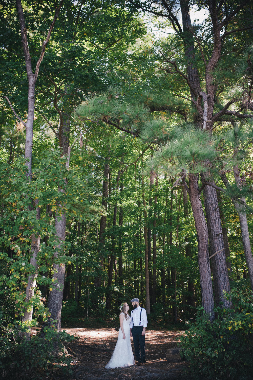 Woodland Wedding - Raleigh Wedding Photographer - North Carolina Wedding Photographer
