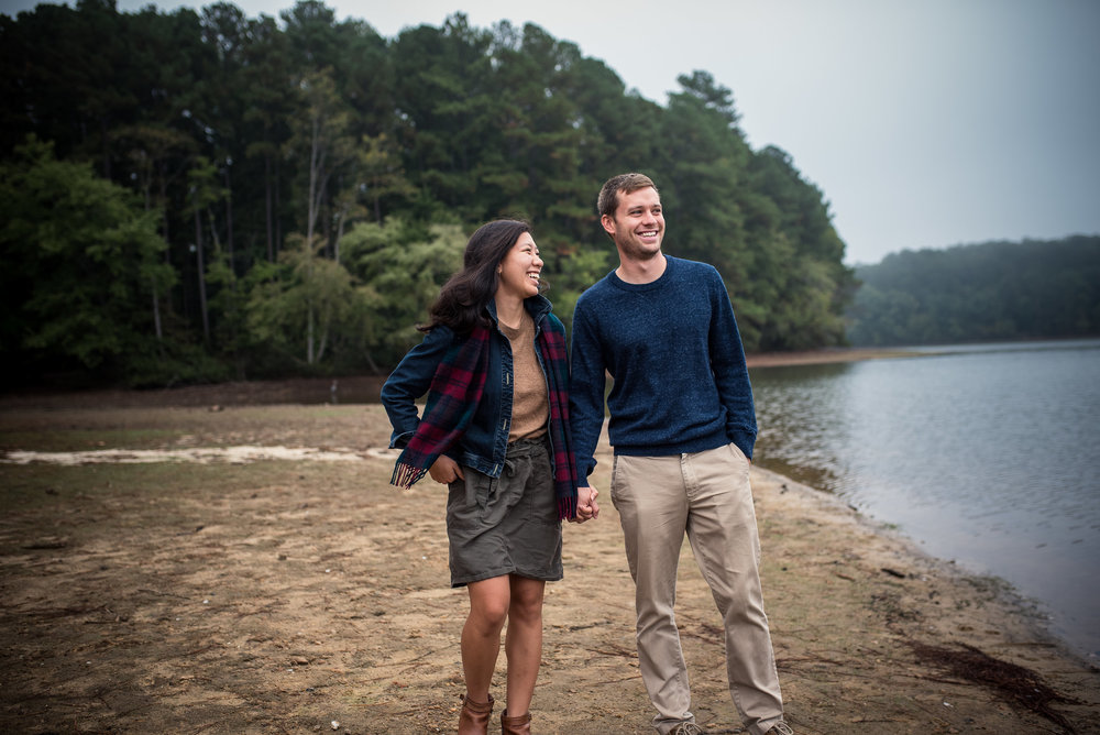 North Carolina Wedding Photographer - Adventure Engagement Session