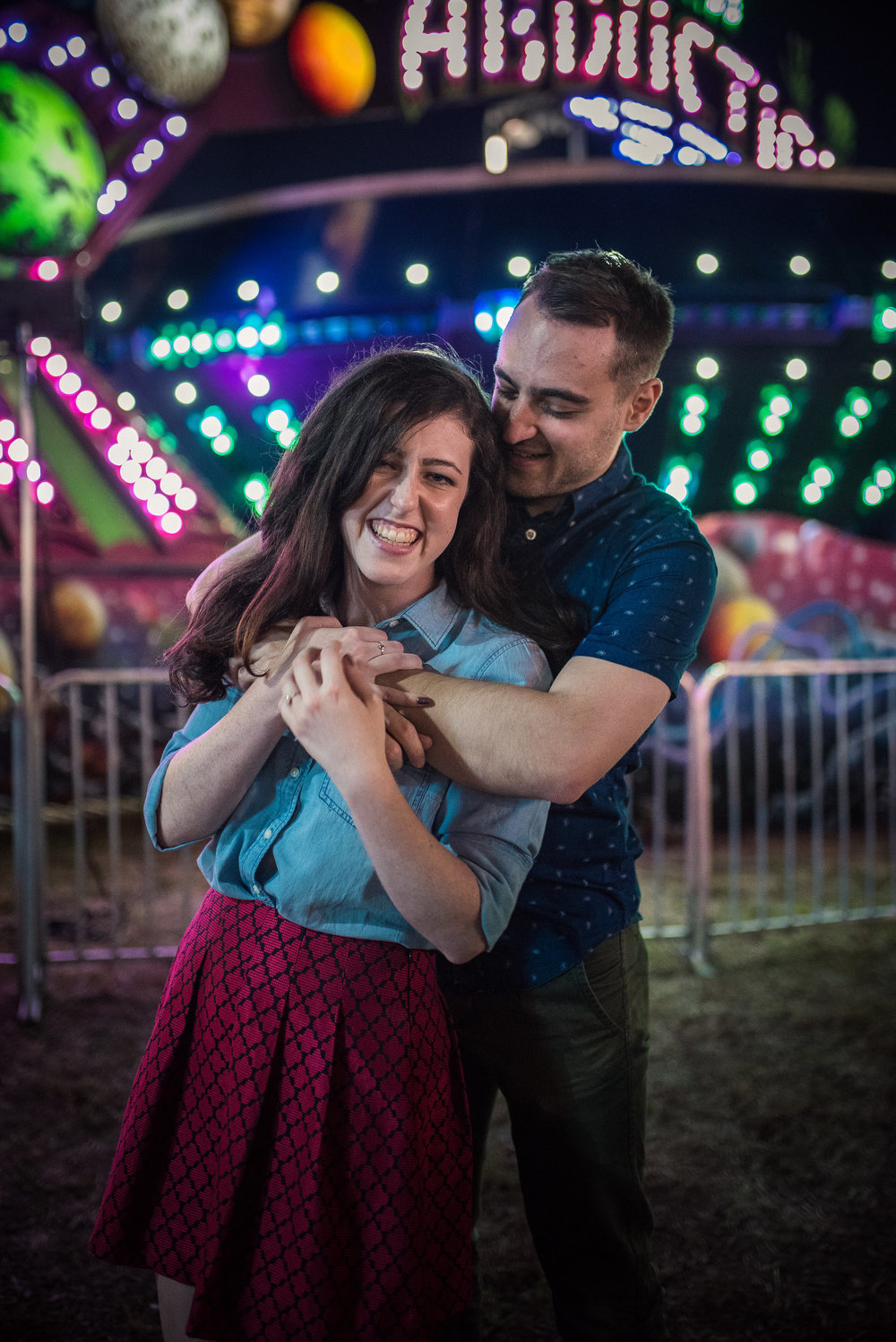 NC State Fair Engagement - North Carolina Wedding Photographer