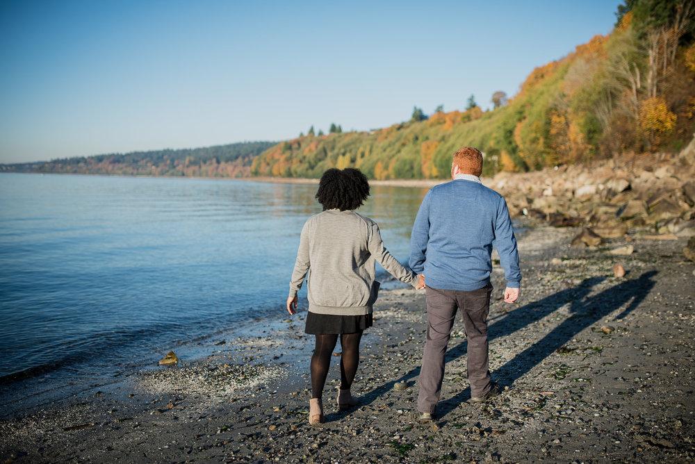Seattle Engagement - Seattle Wedding Photographer - North Carolina Wedding Photographer