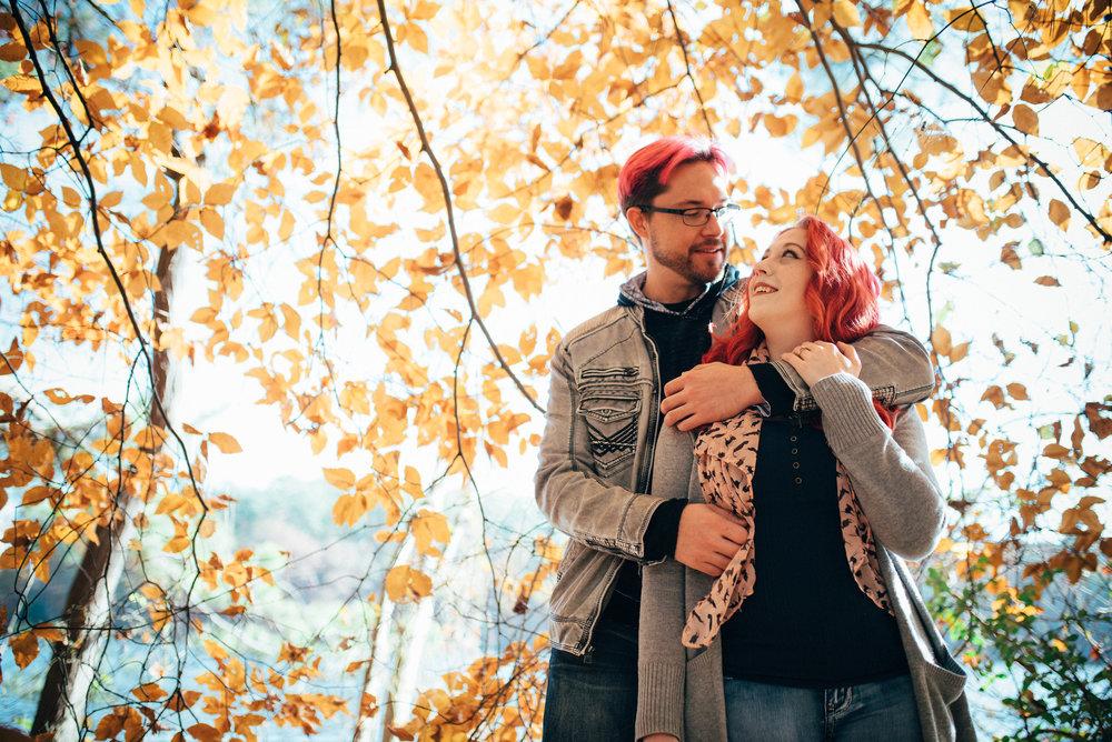 lake johnson engagement - raleigh wedding photographer - north carolina wedding photographer