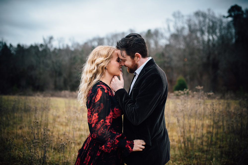 chapel hill wedding photographer - merritt's pasture engagement - north carolina wedding photographer