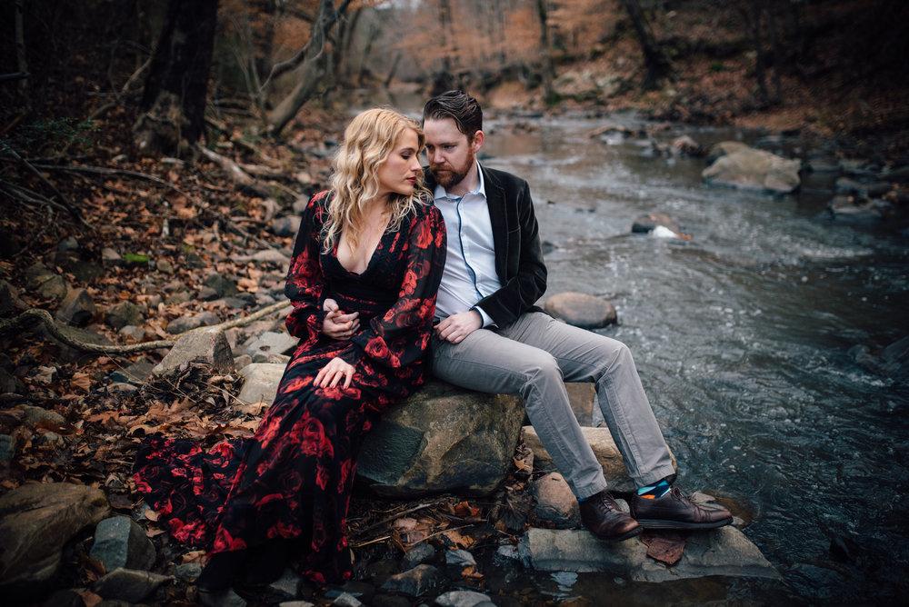 merritt's pasture engagement - chapel hill wedding photographer - north carolina wedding photographer