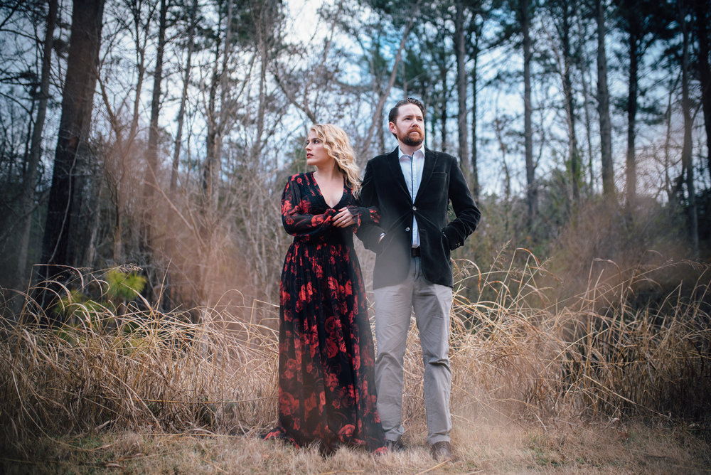 merritt's pasture engagement - chapel hill wedding photographer - north carolina wedding photographer