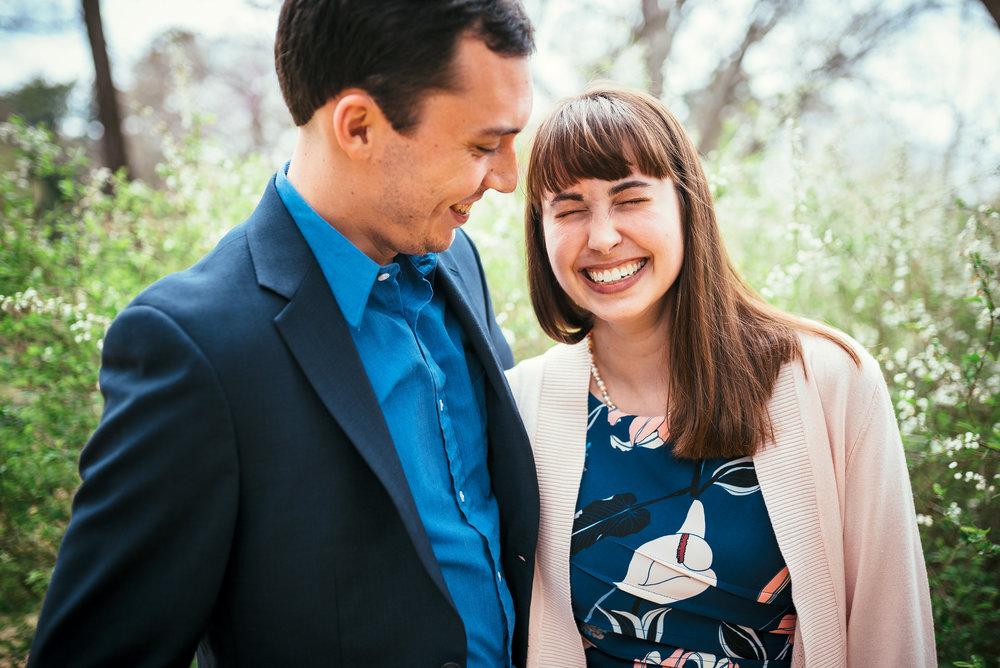 chapel hill engagement - unc engagement - north carolina wedding photographer