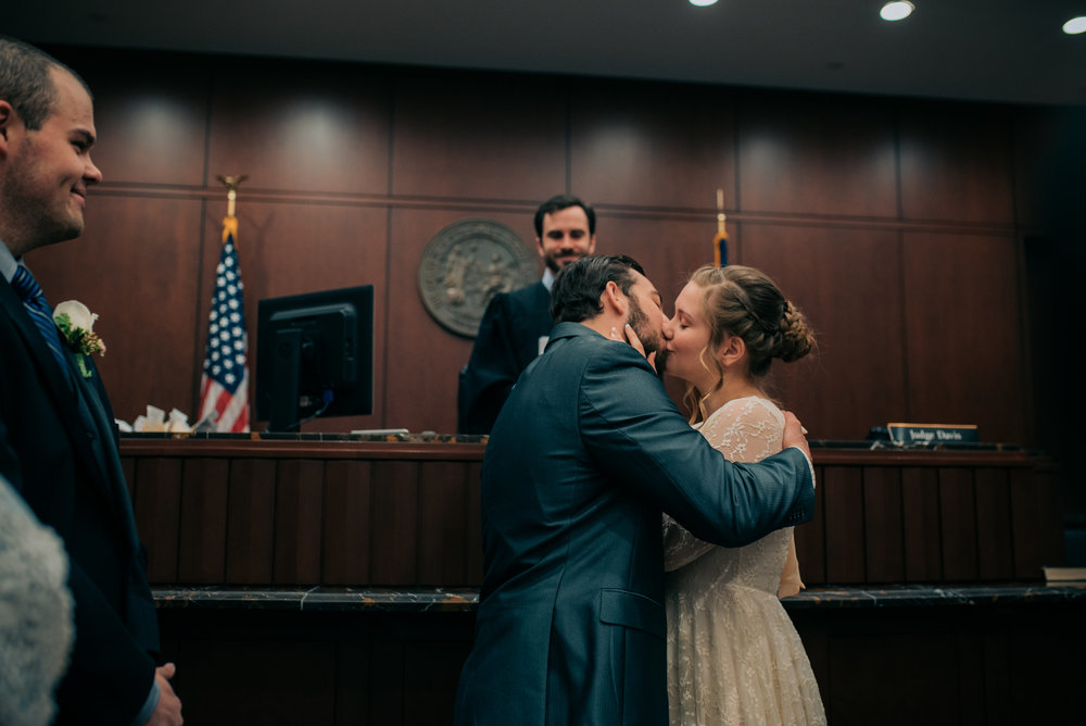 wake county courthouse wedding - north carolina wedding photographer