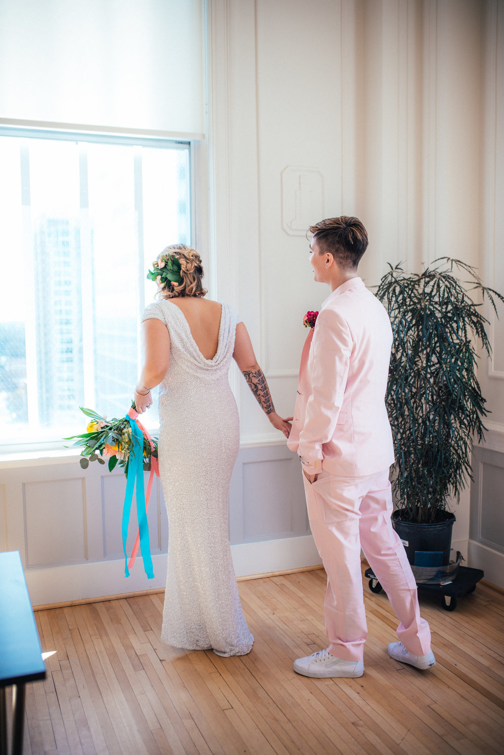 North Carolina LGBT Wedding Photographer - Palm Springs Wedding - Raleigh Wedding Photographer