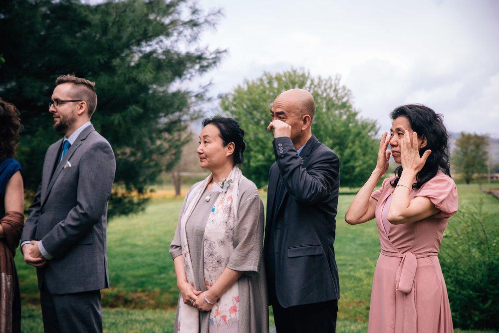 asheville elopement photographer - north carolina wedding photographer - pisgah national forest elopement