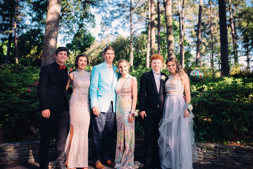 Raleigh Prom Photographer - Raleigh Wedding Photographer - North Carolina Wedding Photographer