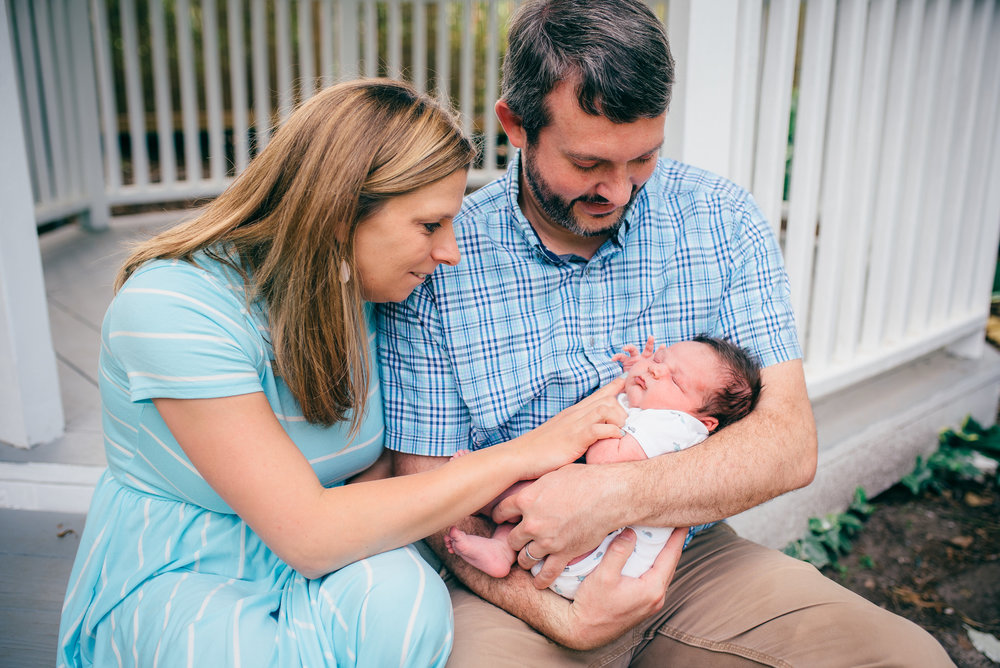 raleigh newborn photographer - raleigh lifestyle photographer - north carolina photographer