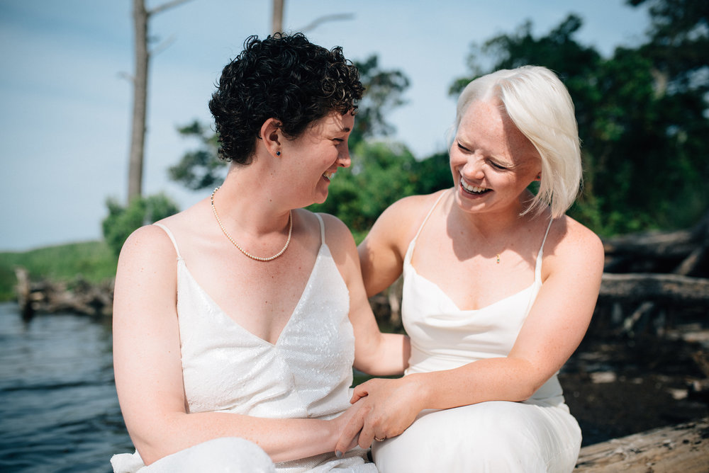 LGBT Wedding  - Kitty Hawk Wedding Photographer - North Carolina Wedding Photographer vvvv