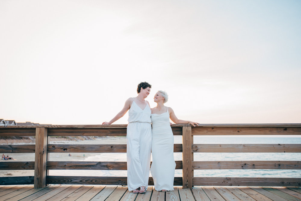 LGBT Wedding  - Kitty Hawk Wedding Photographer - North Carolina Wedding Photographer