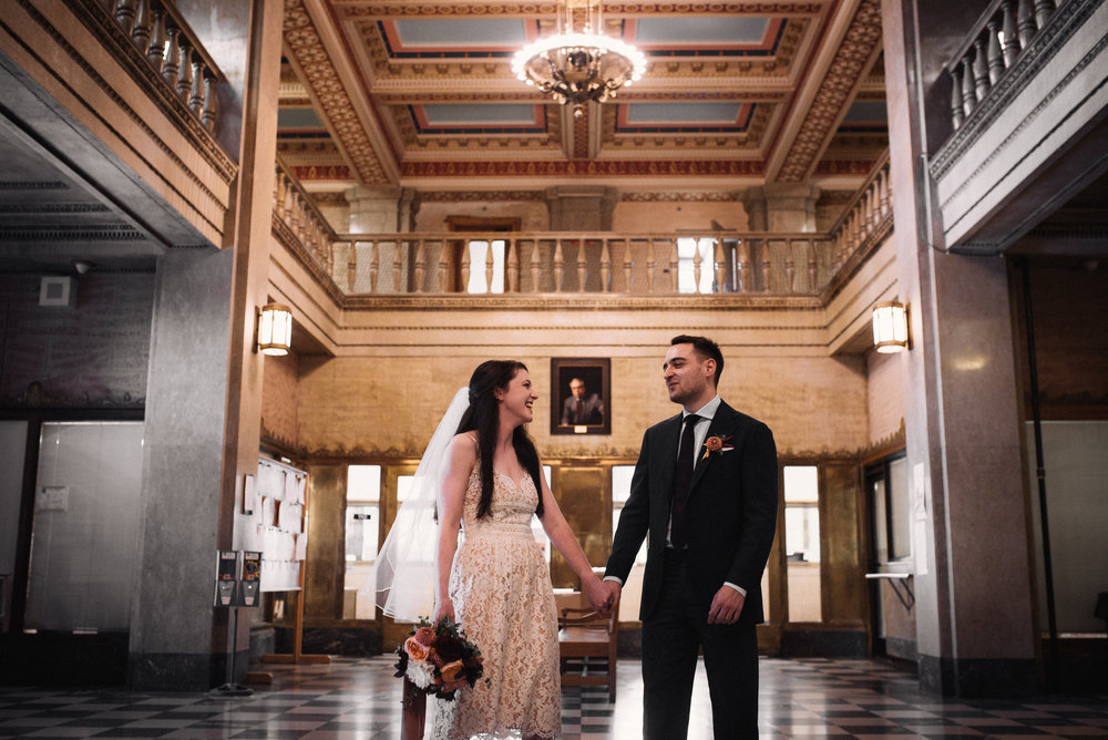 asheville wedding photographer - north carolina wedding photographer - asheville courthouse wedding