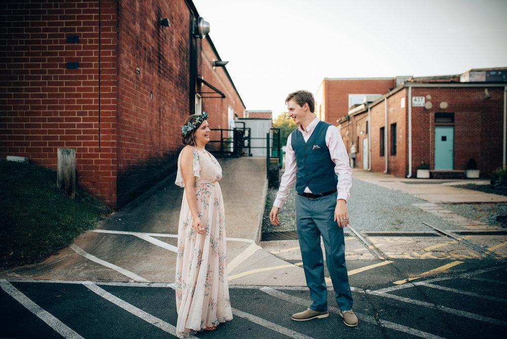 north carolina wedding photography - hillsborough wedding photographer - cloth mill wedding photography