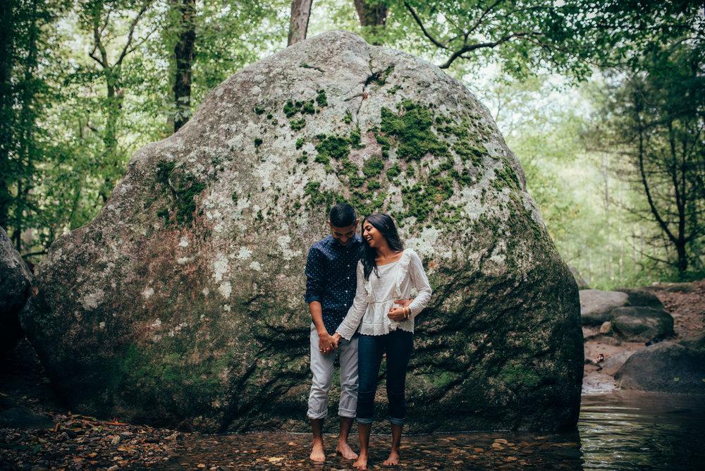 asheville wedding photography - north carolina wedding photographer - blue ridge parkway engagement