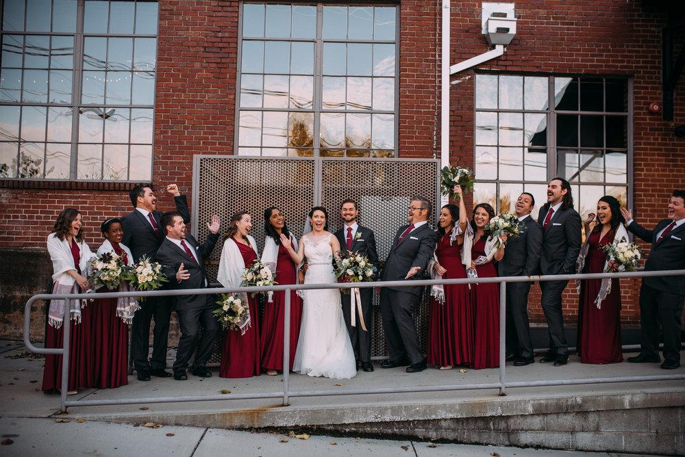 north carolina wedding photographer - durham wedding photographer - the rickhouse wedding