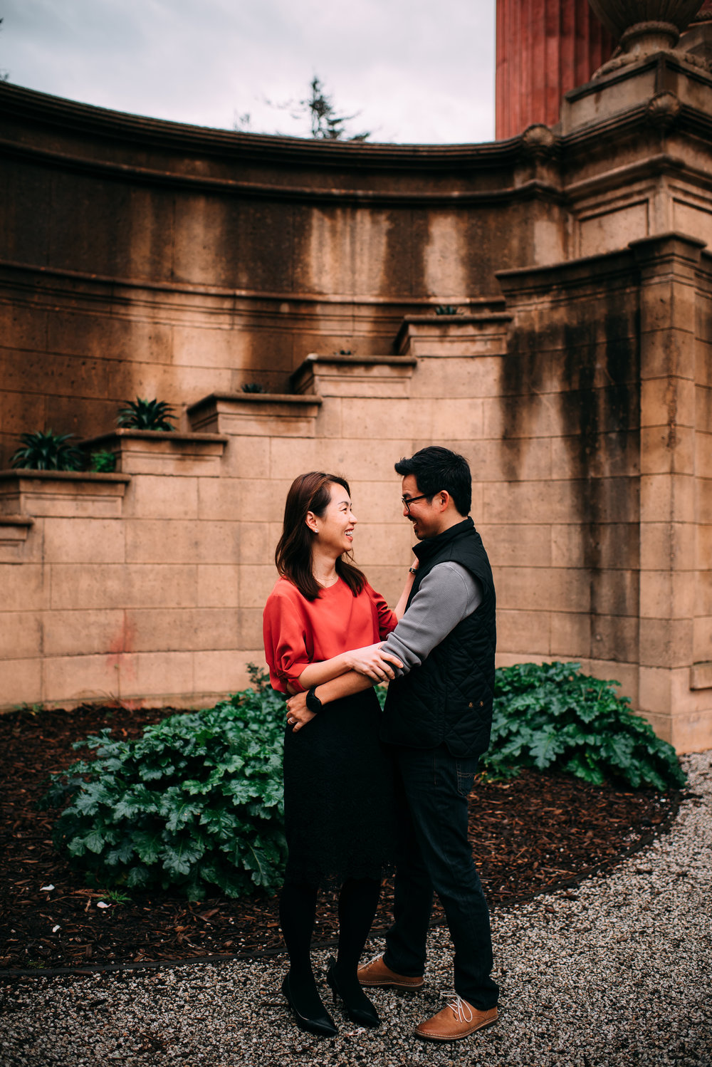 san francisco wedding photographer - san francisco engagement photographer - palace of fine arts engagement