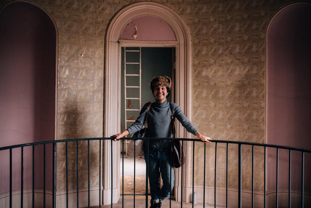 raleigh portrait photographer - north carolina portrait photographer - montford hall portrait session