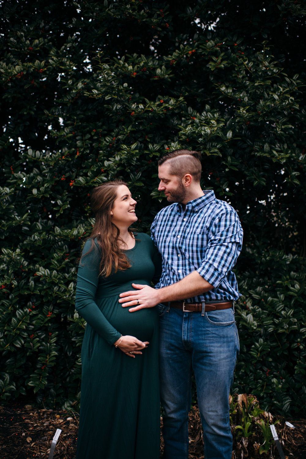 Raleigh Maternity Photography - JC Raulston Maternity Session - North Carolina Family Photographer - Durham Family Photographer - Raleigh Family Photographer