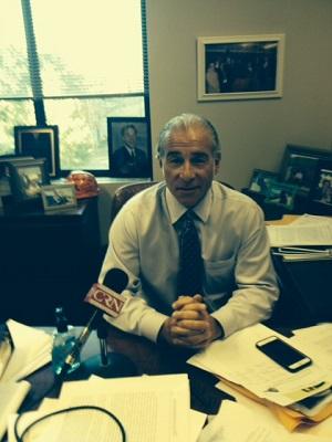 Rocky Hill Representative Antonio Guerrera co-chair of the legislature's transportation committee