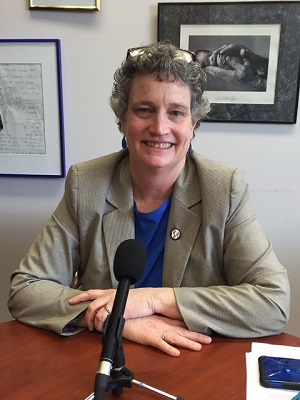 State Sen. Beth Bye (D-West Hartford), co-chair of the legislature's Appropriations Committee