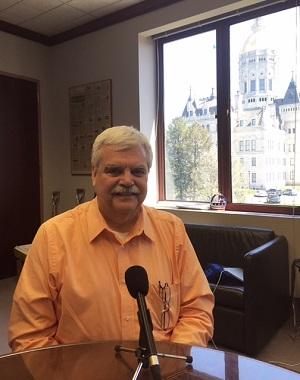 Deputy State House Speaker Bob Godfrey, Democrat from Danbury