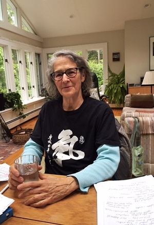 Donna Landerman, a founder of Save Our Water/CT