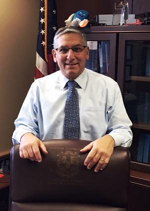 State Senate Republican President Len Fasano from North Haven