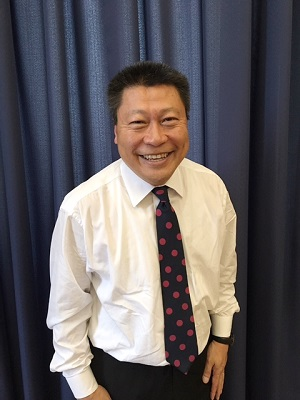 State Senator Tony Hwang, Republican from Fairfield