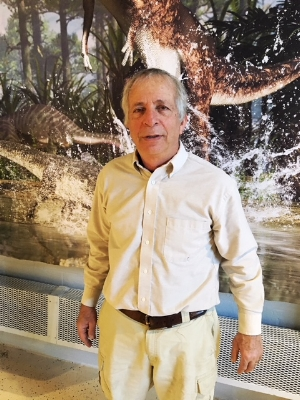 Jay Kaplan, director of the Roaring Brook Nature Center in Canton.